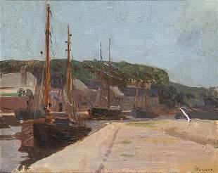 SPANISH SCHOOL. 19th century - Port