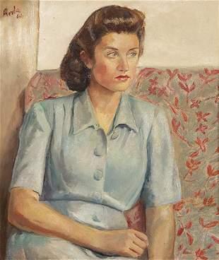 JUAN ANTONIO RODA - Seated woman