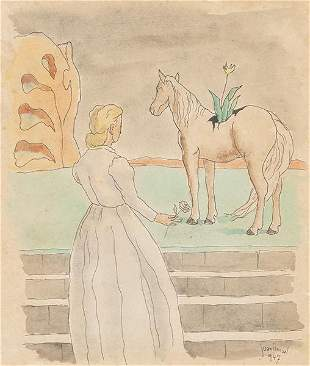 JUAN ISMAEL - The lady and the horse