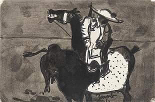 JUAN BARJOLA - Bullfighting