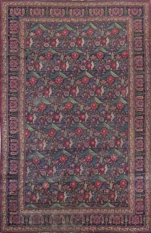 Turkmen wool rug end 19th century early 20th century.
