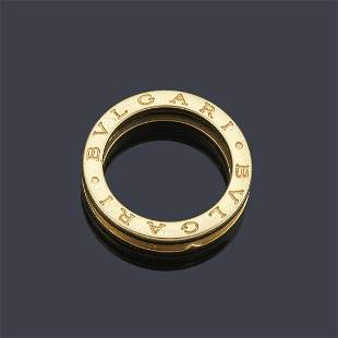 BVLGARI Ring from the 'B.ZERO' collection in 18K