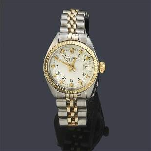 ROLEX Oyster Perpetual Date Lady ref: 6917 with steel