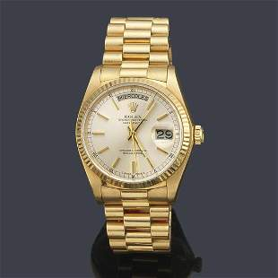 ROLEX Oyster Perpetual Day-Date Superlative Chronometer