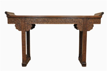 Chinese Huanghuali Hardwood Table, 20th C.