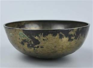 Chinese Bronze Bowl Ming Dynasty