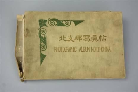 """Japanese Print """"North China Photo Album"""", 1914"""