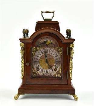 Decorative Wood Mantel Clock