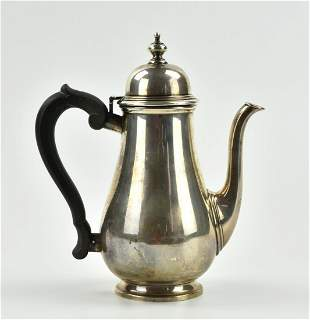"""Tiffany & Co"" Sterling Silver Tea Pot, 575 gram"