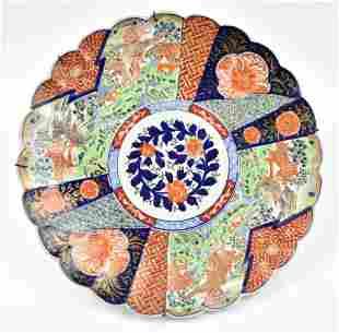 Large Japanese Imari Charger, 19th C.