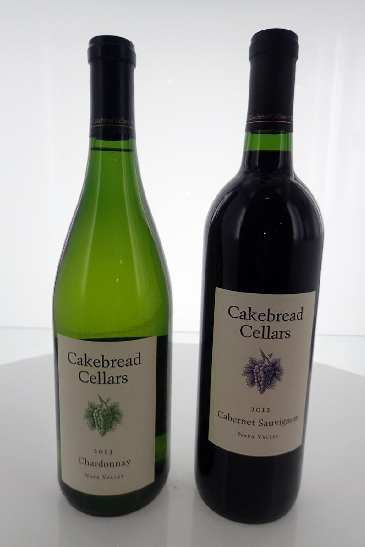 (2) Cakebread Cellars Wines 750ml