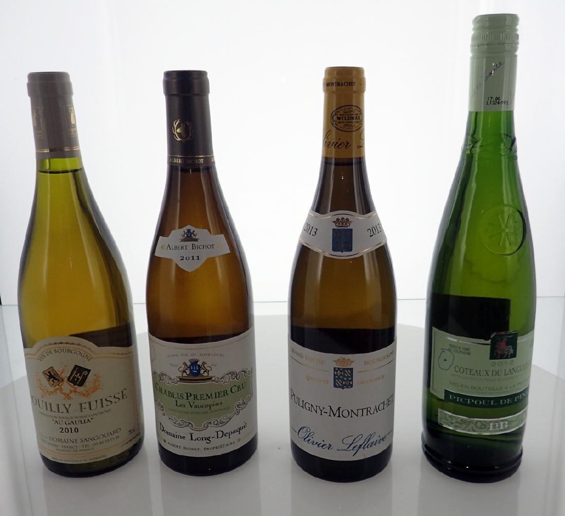 (4) Assorted Wines 750ml