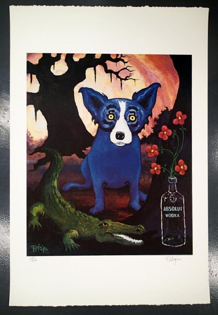 George RODRIGUE Absolut Statehood Louisiana 358/400