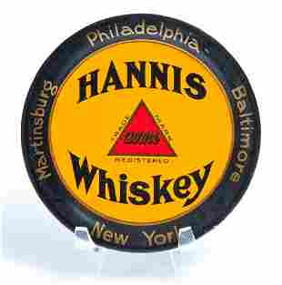 HANNIS WHISKEY TIP TRAY