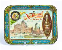 NATIONAL BREWERY ST LOUIS TIP TRAY