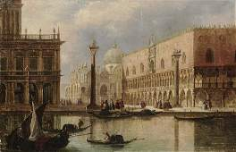 Venice - View of the Doge's Palace and San Marco