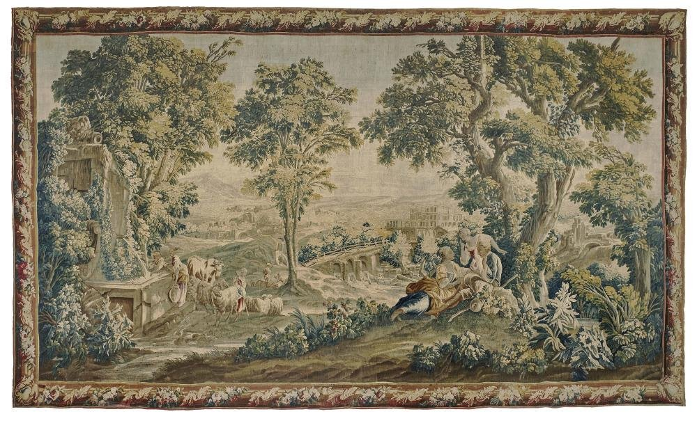 A tapestry France (Aubusson), mid-18th century
