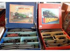 "Two vintage Hornby ""O"" gauge train sets (boxed)"