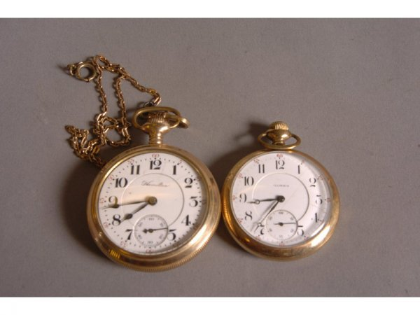 13: TWO POCKET WATCHES