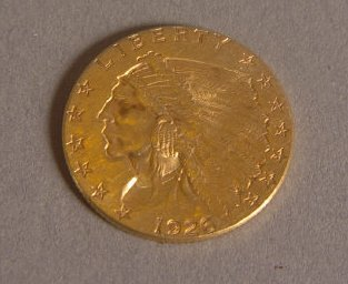 15A: 1908 2 1/2 DOLLAR EAGLE
