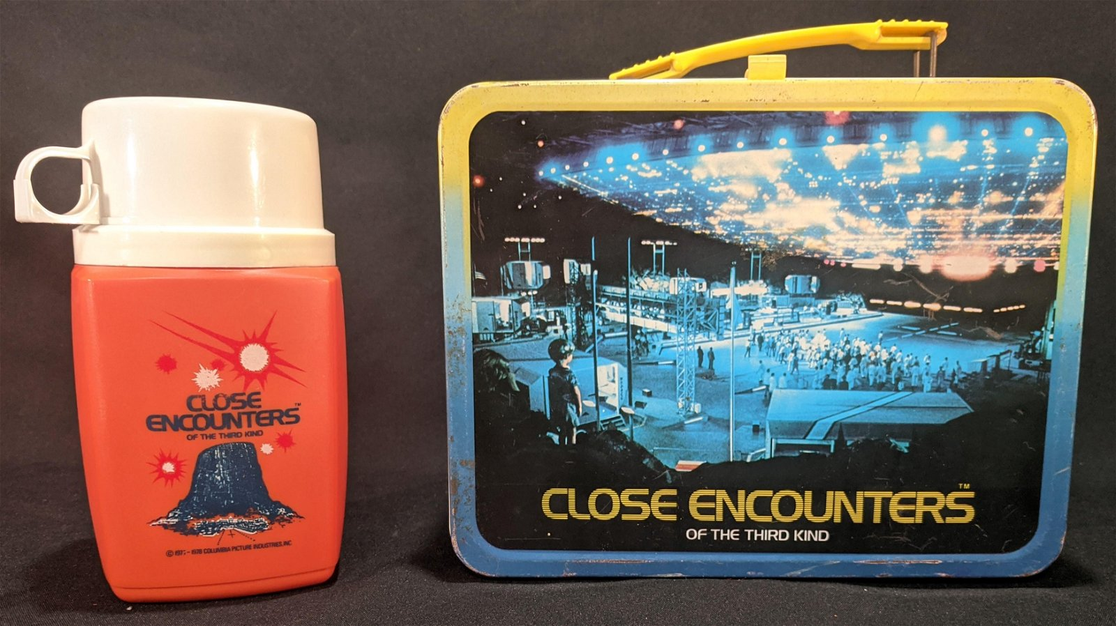 1977 Close Encounters of the Third Kind LUNCHBOX Thermo