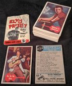 Complete 1956 ELVIS Presley Rock 'N' Roll Card Set