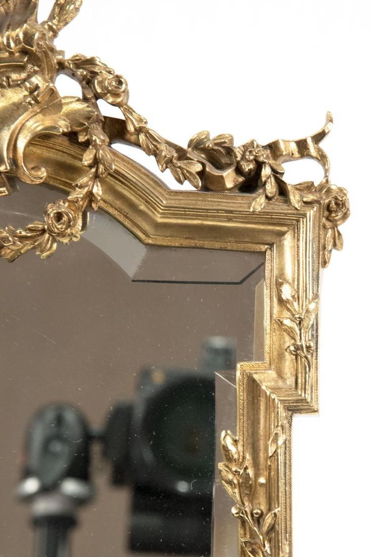 French Louis XVI-Style Ormolu Table-top Mirror - 3