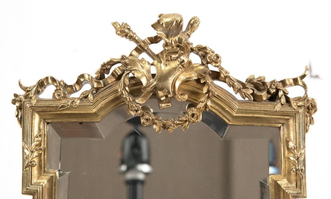 French Louis XVI-Style Ormolu Table-top Mirror - 4