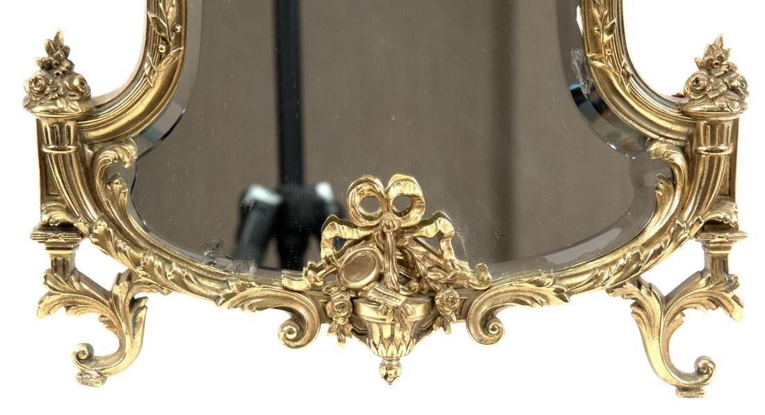 French Louis XVI-Style Ormolu Table-top Mirror - 5