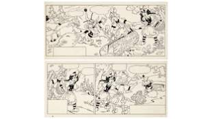ANTONIO RUBINO, Biancarosa e Rosarossa, two strips