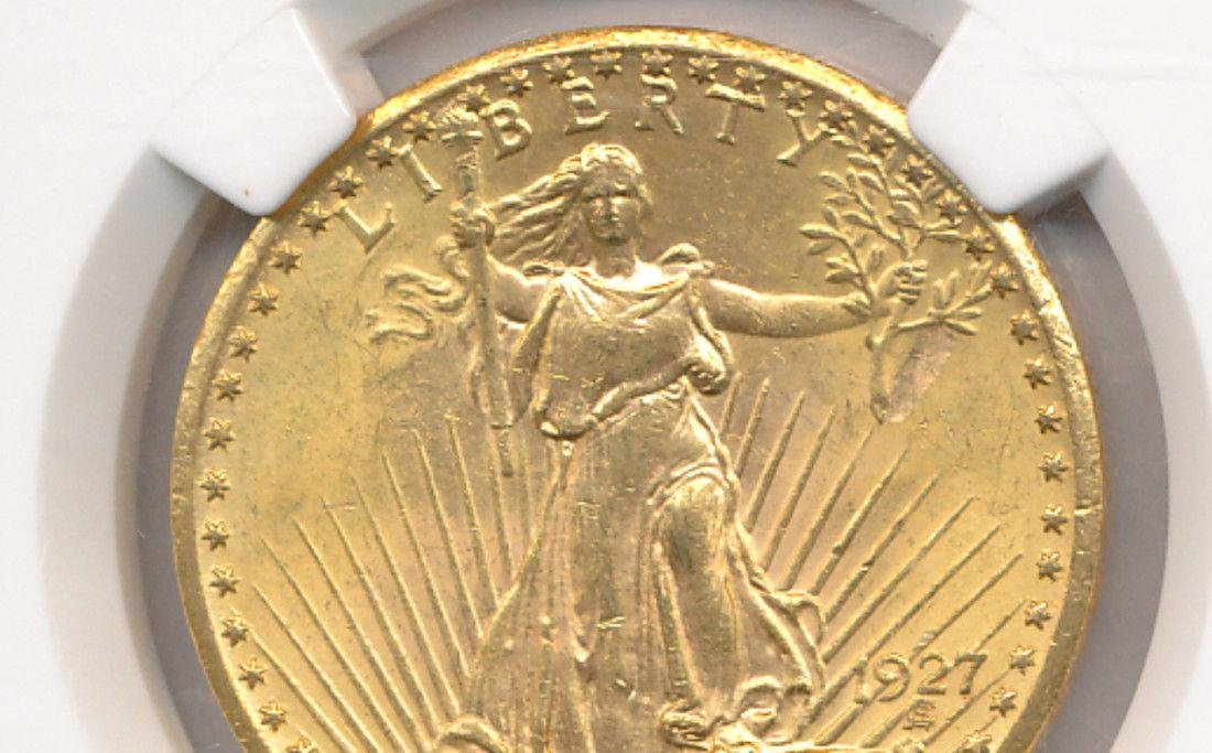 MINT ERROR $20 Gold St. Gaudens Must See to Believe! - 2