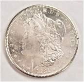 1881S MS65 PL MORGAN SILVER DOLLAR PQ