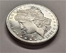 1881S MORGAN SILVER DOLLAR MS6465 PLDMPL