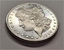 1886 MORGAN SILVER DOLLAR MS6465 PLDMPL