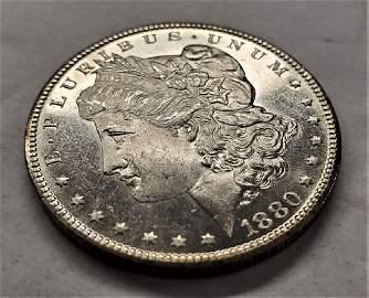 1880-S MS65/66 PL MORGAN SILVER DOLLAR