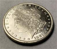 1881O MS 65 PL MORGAN SILVER DOLLAR