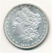 1890CC CARSON CITY MORGAN SILVER DOLLAR MS63