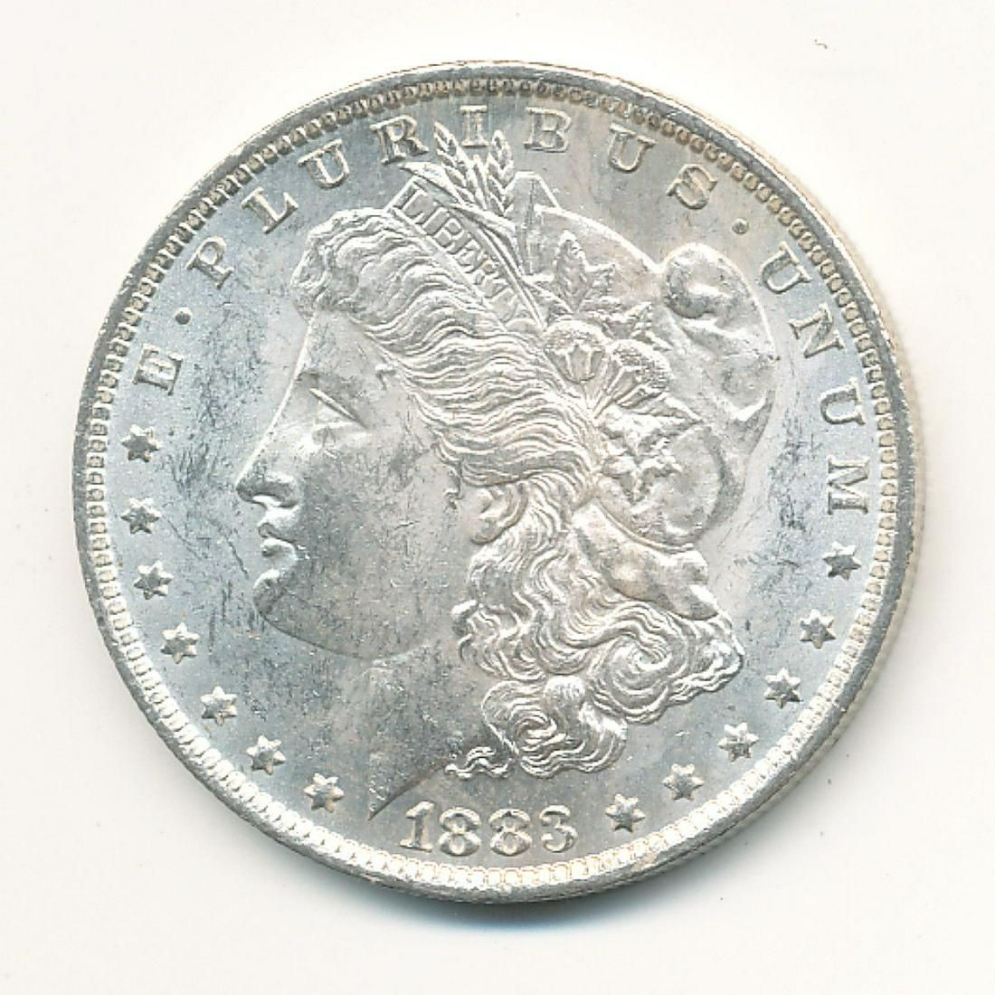 1883-O MORGAN SILVER DOLLAR MS63