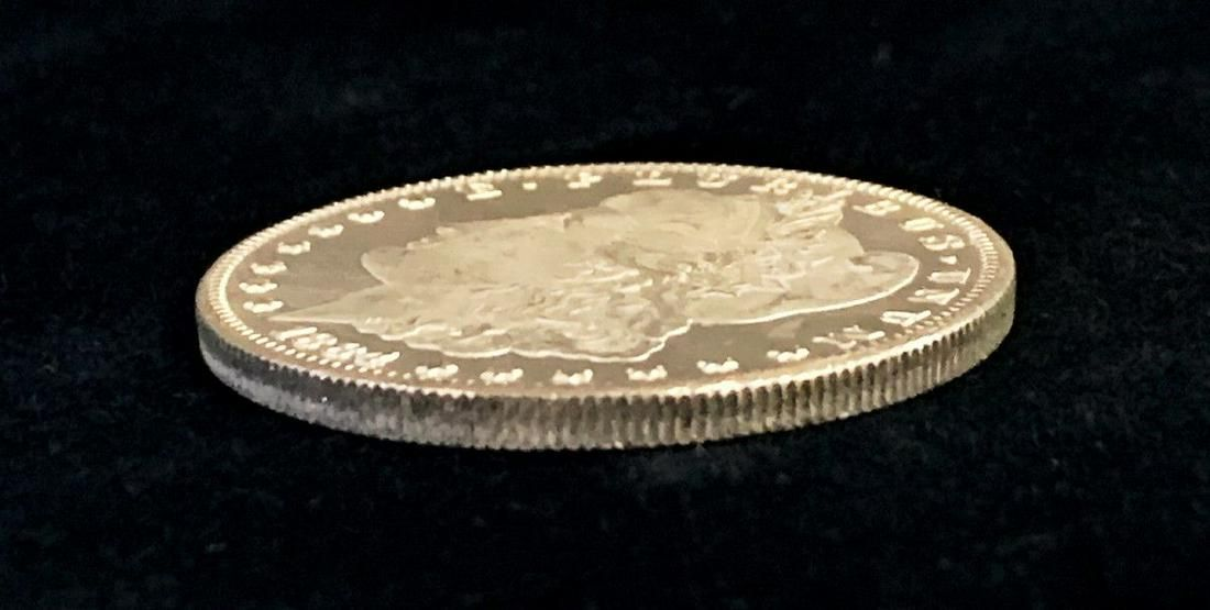 1884-CC MS65/66 PL MORGAN SILVER DOLLAR