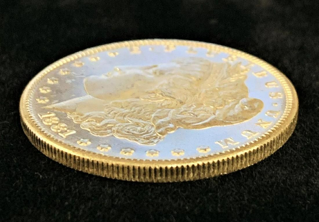 1881-S 64/65 PL/DMPL MORGAN SILVER DOLLAR
