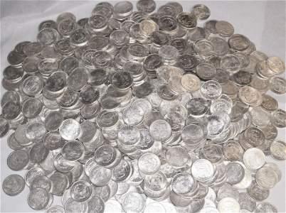 (100) 1921 MORGAN SILVER DOLLARS ALMOST MINT