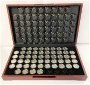 BOXED U.S. COIN COLLECTION