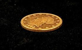 1893 MS63 PROOFLIKE 10 LIBERTY GOLD