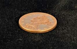 1900P 5 LIBERTY GOLD MS63 PROOFLIKE