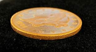 1895-S $20 GOLD LIBERTY PROOF-LIKE MS63