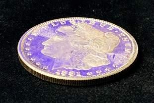1881-S MS65 PL SILVER DOLLAR