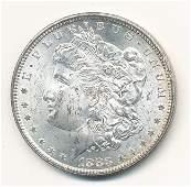 1883CC MORGAN SILVER DOLLAR MS63
