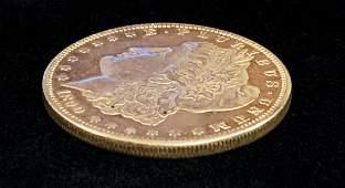 1890P MORGAN SILVER DOLLAR MS62 PROOF LIKE