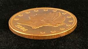 1895 20 GOLD LIBERTY PROOFLIKE MS63