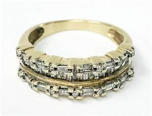 1/2 TW DIAMOND 10K GOLD RING